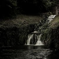 Little waterfall by Dave-Mane