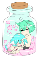 Yaoi in a Bottle by Sammy-Shota-Prince