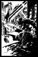Arkham Bats before Arkham by Chuckdee