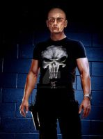 Eddie as the Punisher by lilhazelstar