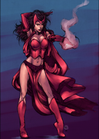 Scarlet Witch by chacuri