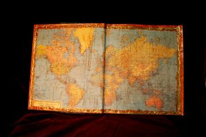 Traveler's Tome Inside Cover by turnerstokens