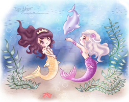 COM - Mermaids by Wingsie