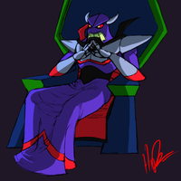 Evil Emperor Zurg plots by Manticoress