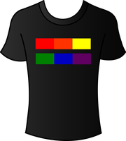 T-Shirt Design Spectrum Shirt Equality by ItsMeNaturall