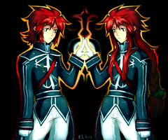 Asch and Luke: PAF XD by ELK64