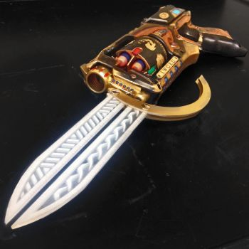 Magic: the Gathering Gunsword by melell