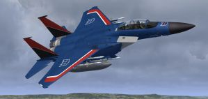 F-15E Thundercracker 3 by agnott