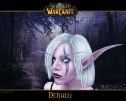 Denalli - Night Elf by Renilicious