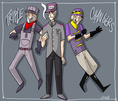 Triplechangers by antiphile