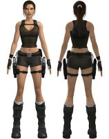Lara Croft: underworld shorts by TanyaCroft