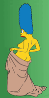 Marge After Bath by paulibus2001