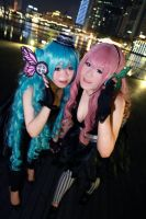 Vocaloid Magnet - Miku x Luka by Xeno-Photography