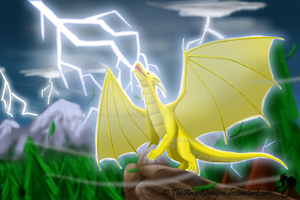 Storm, Lightning and Thunder by TheAngelDragon