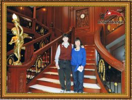Titanic's Grand Staircase by Faul-T-Wiring