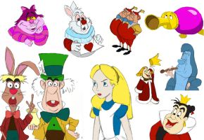 13 - Alice in Wonderland by julvett