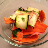 Shaved Carrot and Zucchini Salad by chef-chad