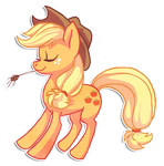 Applejack by griffsnuff