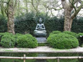 Place 303 - Buddha in the park by Momotte2stocks