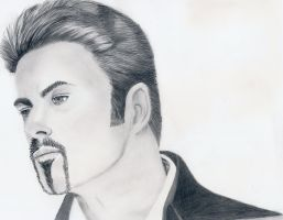George Michael by PaulTHutchins