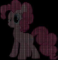 MLP:FiM Worded: Pinkie Pie by AtomicAzure