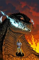 GODZILLA issue 2 cover by KaijuSamurai