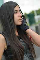 Tifa busy :3 by Chromulee