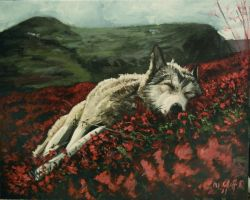 nature rest my painting by cliford417