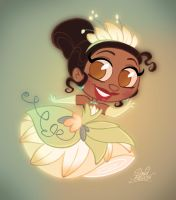 New Chibie Disney's Tiana by princekido