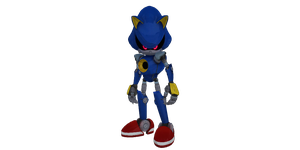 Metal Sonic (Sonic Boom) For MMD by MakutaKorzak