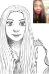 Portrait drawing (my sister) by alanna11