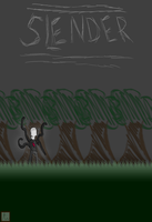 Slender iPhone Wallpaper by ThinkPixel