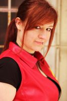 Claire Redfield Portrait Game of Oblivion Cosplay by ChaoticClaire