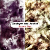 Xephyer and Jashin Brush Set by Ryoku15
