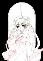 Sketch - Rozen Maiden by TashaChan
