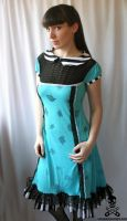 tea party dress 2 by smarmy-clothes