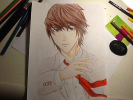 Light Yagami by Rominaisawesome