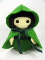 Little Green Riding Hood by deridolls