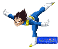 Vegeta plane by ingridMZ