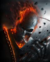Ghost Rider by CHESHUIN