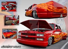 Bagged Dually Large by xcustomz