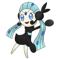 Meloetta Pattinare Forme by OrdinLegends