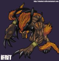 Ifrit by Shadent-strife