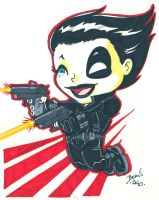 Chibi-Domino. by hedbonstudios
