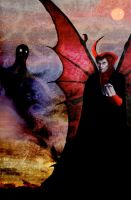Venger and the Shadow Demon by ChrisRawlins