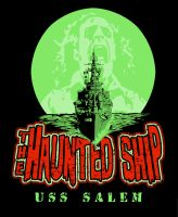 the haunted ship by rawddesign