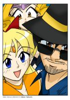 Sailor Venus, Me and Mimete Selfie by ArthurT2015
