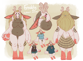 Ref Sheet: Frederp by vaegrant