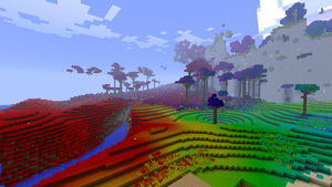 Minecraft - Colored Biomes by Ludolik