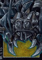 Scorponok - Sketch Card by J-Redd